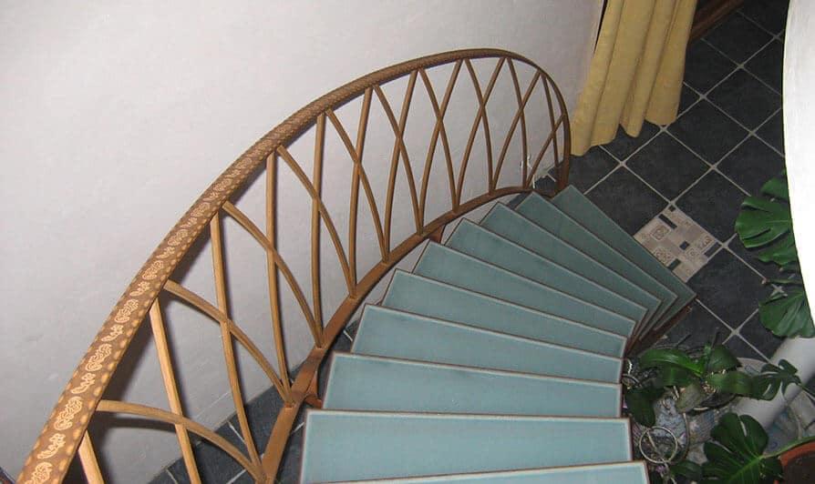 Escalier Métallique-troispetitspoints-thieusies
